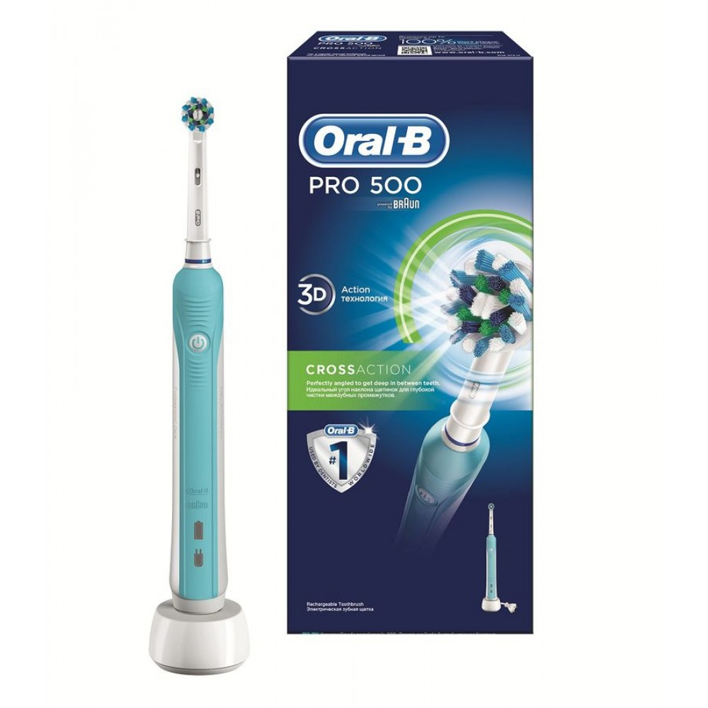 Зубная щетка ORAL-B PRO 500 CrossAction/D16.513.U